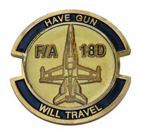 US Air Force F/A 18D Challenge Coin