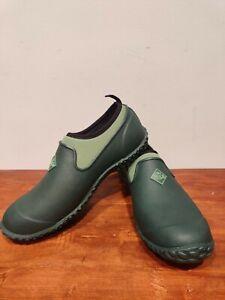 Muck Boot Muckster II Low Slip On  Womens  Flats Casual   - Green Women's Size 9