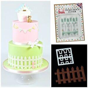 FMM Picket Fence Cutter Cake Icing Sugarcraft Decorating Fondant Cutting Tool