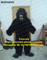 Black gorilla Mascot Costume Suits Cosplay Party Game Dress Outfits Clothing Ad
