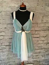 "NEW - Rare TEBI Soft Net Short Grecian, Fairy Elfin Dress UK12 32/34"" Bust"