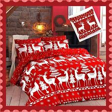 Christmas Special Duvet Cover/ Quilt Cover Set, CHRISTINE, All Sizes Available