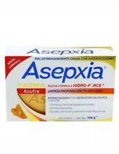 Asepxia Jabon Azufre para piel extremadamente grasa con imperfecciones/oily skin