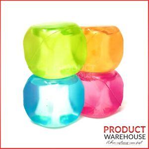 Reusable Ice Cubes Cool Cold Drinks Freezer Blocks Glass Pitcher Cooler Plastic