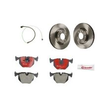 BMW M3 E36 94-99 Front Disc Brake Rotors With Pads And Sensor Kit Brembo / Bowa