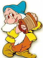 Disney Pin 7265 Snow White and the Seven Dwarfs Bashful Accordian Playing