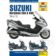 Suzuki AN 250 Burgman 1999 Haynes Service Repair Manual 4909