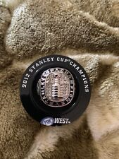 NHL HOCKEY - LOS ANGELES LA KINGS 2012 STANLEY CUP CHAMPIONS SILVER RING sz11