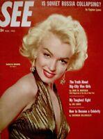 Marilyn Monroe Magazine 1953 SEE Powolny 20th Fox Gentlemen Prefer Blondes EX