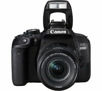 New Canon EOS 800D DSLR Camera with EF-S 18-55mm IS STM Lens Kit UK Model