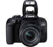 New Canon EOS 800D DSLR Camera with EF-S 18-55mm IS STM Lens Kit UK Model