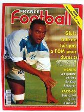 France Football du 6/12/1994; Les quatre vérité de guy Scherrer/ PSG, Luis/ Gili