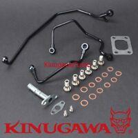 Kinugawa Turbo Oil & Water Pipe Kit SAAB 9-5 TD04HL 15T 19T (For GT17 to TD04HL)