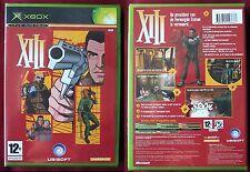 XBOX ou XBOX 360 ! Jeu  XIII, version PAL, NEUF SOUS BLISTER D'ORIGINE