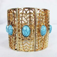 INC International Concepts GOLD-TONE STONE AND PAVE RECT Bracelet Msrp $39.50