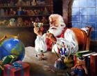 R.J. McDonald Santa's Approval Christmas S/N Art Print -20 x 16