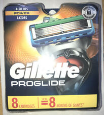 New Gillette Proglide 8 Pack Replacement Cartridges Free Shipping