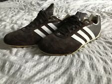 adidas Leather Brown Athletic Shoes for Men for sale | eBay