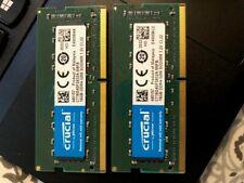 New listing Crucial 32 Gb (2x16Gb) Ddr4 3200 Mhz Laptop Memory Ct16G4Sfd832A