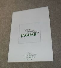 Jaguar Range Brochure 1990 - XJ6 Sovereign Daimler XJS V12