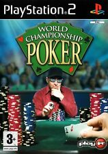 World Championship Poker PS2 (Playstation 2) - Free Postage - UK Seller
