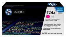 Genuine HP LaserJet Magenta Printer Toner Cartridge 124a Q6003A