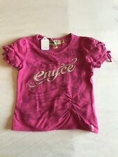 ENYCE planted school girl 2t girls clothes pink short sleeves blouse t shirt