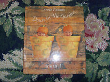 Hardcover Down in the Garden Journal by Anne Geddes book country flowers floral
