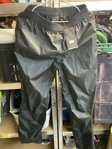 Altura NevisIII Cycling Over Trousers/ Black/ Size XL/ Wind Water Proof
