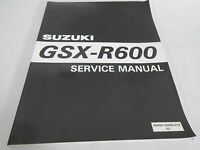 Genuine Vintage Suzuki GSX-R600 Service Manual 99500-35060-01E