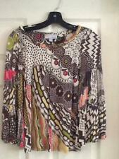 Missoni Multi-Color Top Bell Sleeves, Shirred Neckline