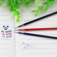 10pcs 0.5mm Ballpoint Pen Refills Gel Ink Refill Writing Pens Student Stationery