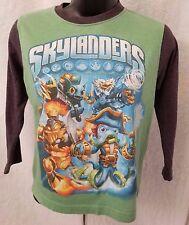 Skylanders Boy's Multi Color Skylanders Long Sleeve Shirt Size XS