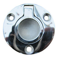 Round Floor Board Lifting Ring, Marine Stainless, Flush Fit