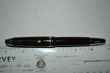 Montblanc Petit Prince & Aviator LeGrand Fountain Pen in Brown - NEW!