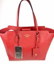 Authentic New Gucci($1350)Trademark Med.Tabasco Swing Tote,w/Gft Rct #354397,NWT