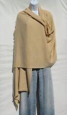 100% Cashmere|Shawl/Wrap|4 Ply|Hand Loomed|Nepal|Mini Herringbone|Camel