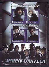 SELLOS  CINE ST. VINCENT OF THE GRENADINES 2003 X MEN UNITED/JEAN GREY/STORM
