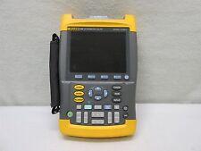 Fluke 199c 2 Ch. Digital Scopemeter w/ Color Display 200MHz 2.5GS/s