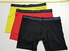 Tommy Hilfiger Stretch Cotton/Microfiber Boxer Briefs - 3 Briefs - Colors- XL