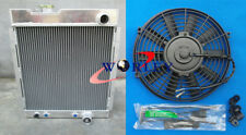 "3 ROW 56mm Aluminum Radiator for Ford MUSTANG V8 289 302 WINDSOR 64-66 + 16"" FAN"