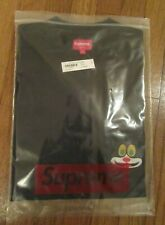 Supreme Cat L/S Long Sleeve Pocket Tee T-Shirt Size Large Black FW19 FW19KN77