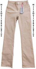 Nouveau haut marks & spencer per una beige slim bootleg jeans taille 16 long défauts