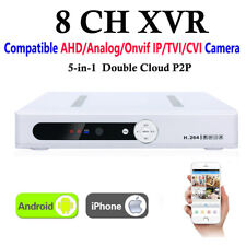 XVR 8CH Channel CCTV Video Recorder 1080P Hybrid NVR AHD TVI CVI DVR 5-in-1