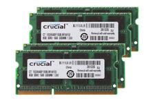 Crucial 4pcs 8GB 8G PC3L-12800S NON ECC SODIMM RAM Memory DDR3L 1600Mhz 1.35V @3