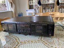 Rare Sony Tc-We635 Cassette Deck, Dolby C, Dual Rec, Auto Bias, Ams, Rms, Pitch