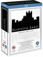 DOWNTON ABBEY ENTIRE SERIES 1 2 3 4 5 6 BLU RAY INCLUDING CHRISTMAS SPECIALS+