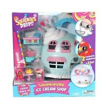 Squinkies Do Drops Ice Cream Shop Playset Kids Toy 2 Exclusive Figures Blip Toys