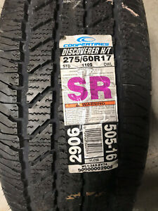 1 New 275 60 17 Cooper Discoverer H/T Tire