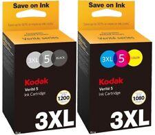 Kodak Verite 5 3xl Multipack Black & Colour Ink Jet Print Cartridge 3xlbk 3xlc